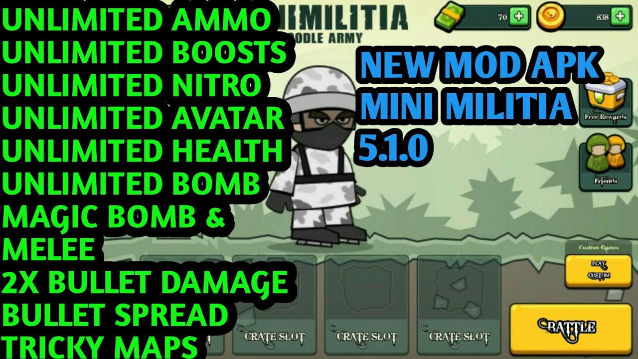 Doodle Army 2 - Mini Militia MOD APK Download May 2020 [Full Mod]