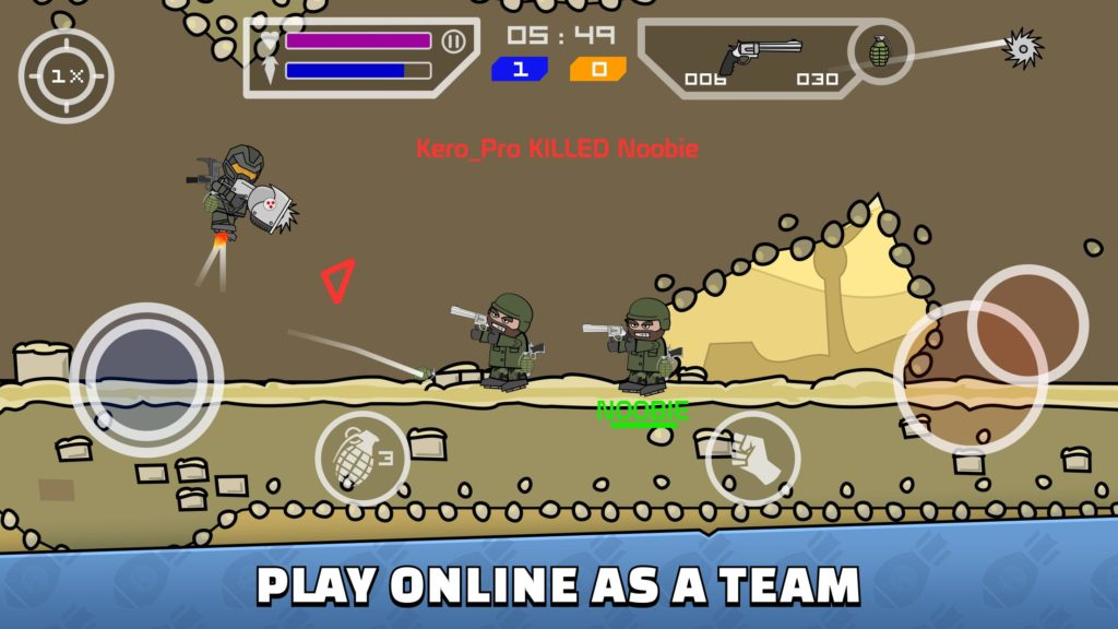 mini militia mod apk download doodle army 2 unlimited everything